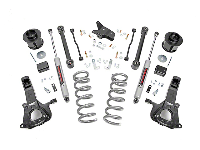 Rough Country 6 in. Suspension Lift Kit (09-18 2WD V8 RAM 1500)