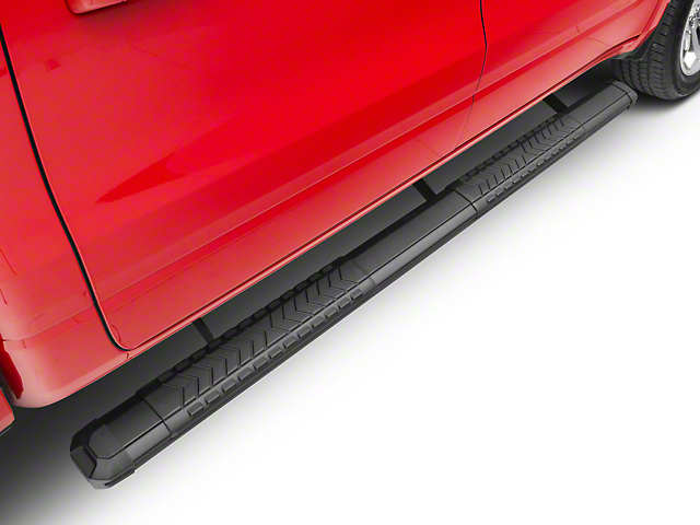 Duratrek 5 in. Aluminum Side Step Bars - Black Cover Plate (2019 RAM 1500 Crew Cab)