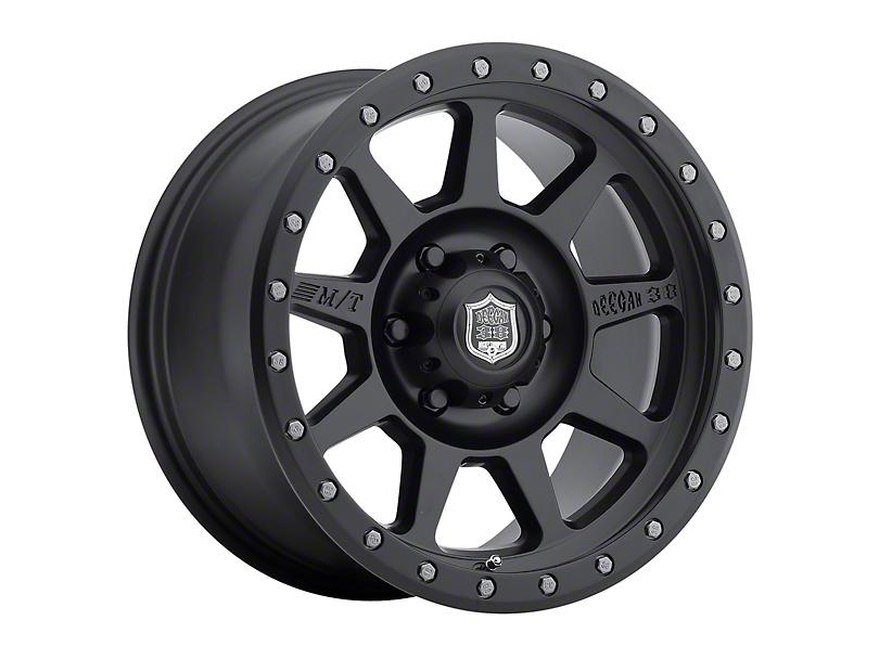 Mickey Thompson Deegan 38 Pro 4 Black 5-Lug Wheel - 17x9 (02-18 RAM 1500, Excluding Mega Cab)