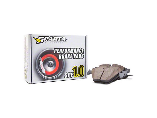 Sparta Evolution SPP 1.0 Performance Brake Pads - Front Pair (02-14 RAM 1500, Excluding SRT-10 & Mega Cab)
