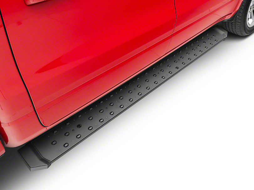 Barricade Rattler Running Boards - Textured Black (2019 RAM 1500 Crew Cab)