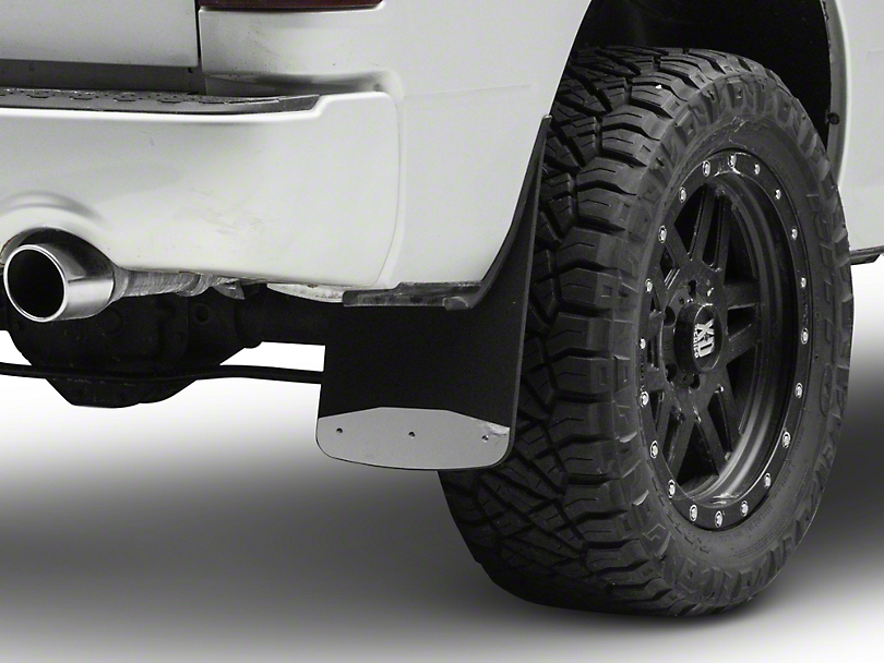 Luverne Textured Rubber Rear Mud Guards - 12 in. x 20 in. (09-18 RAM 1500)