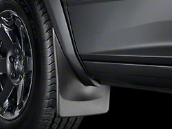 Weathertech No-Drill Mud Flaps; Front; Black (19-21 RAM 1500 w/ OE Flares; Excluding Classic Models)