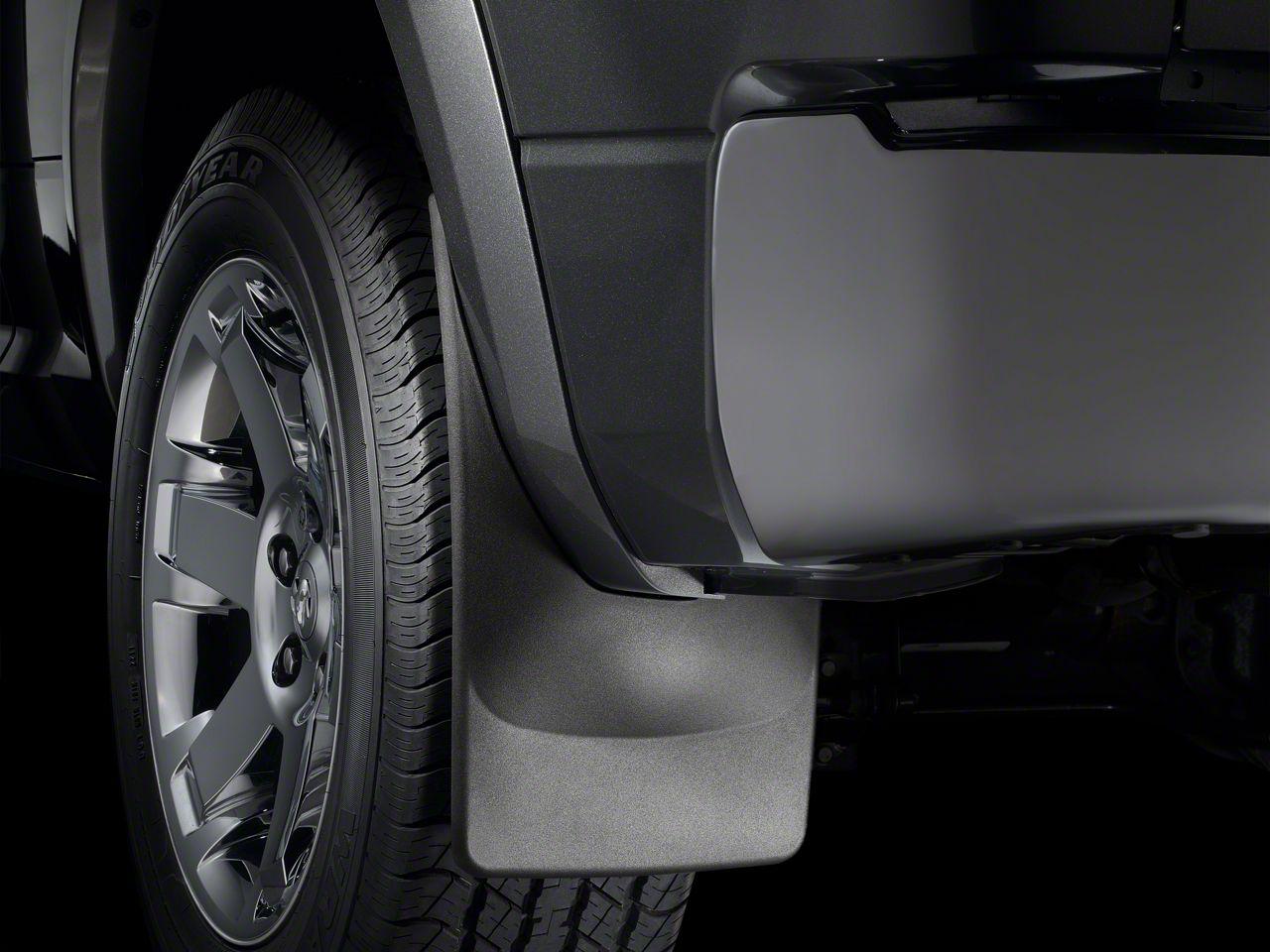 Weathertech Rear No-Drill MudFlaps - Black (2019 RAM 1500 w/ OE Flares)