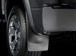 Weathertech No-Drill Mud Flaps; Rear; Black (19-21 RAM 1500 w/ OE Flares, Excluding Classic)