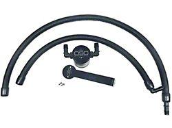 JLT 3.0 Black Oil Separator; Passenger Side (09-18 5.7L RAM 1500)