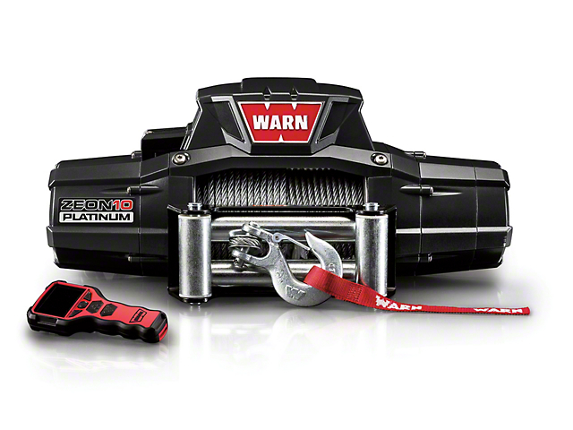 WARN ZEON 10 Platinum 10,000 lb. Winch
