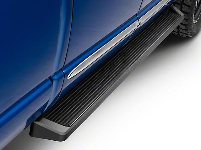 6-Inch iRunning Boards; Black (02-08 RAM 1500 Quad Cab)