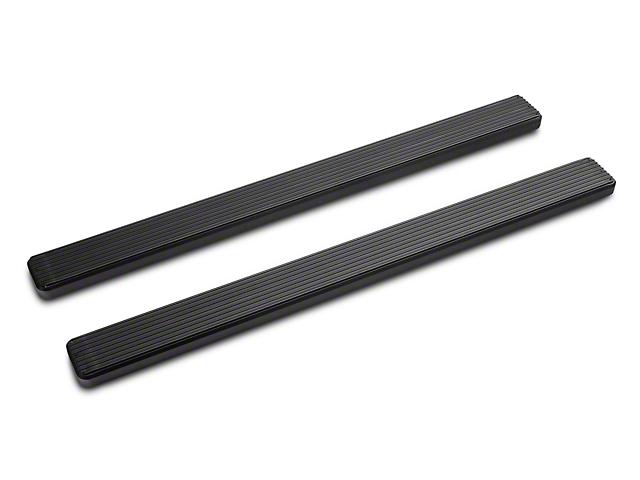 5-Inch iStep Running Boards; Black (09-18 RAM 1500 Regular Cab)