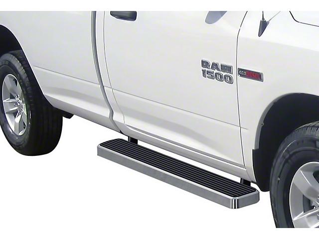 6-Inch iStep Running Boards; Hairline Silver (09-18 RAM 1500 Regular Cab)