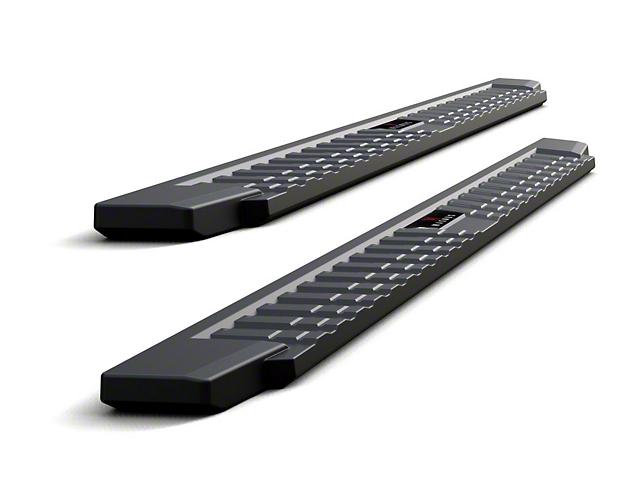 T-Style Running Boards; Black (09-18 RAM 1500 Quad Cab)