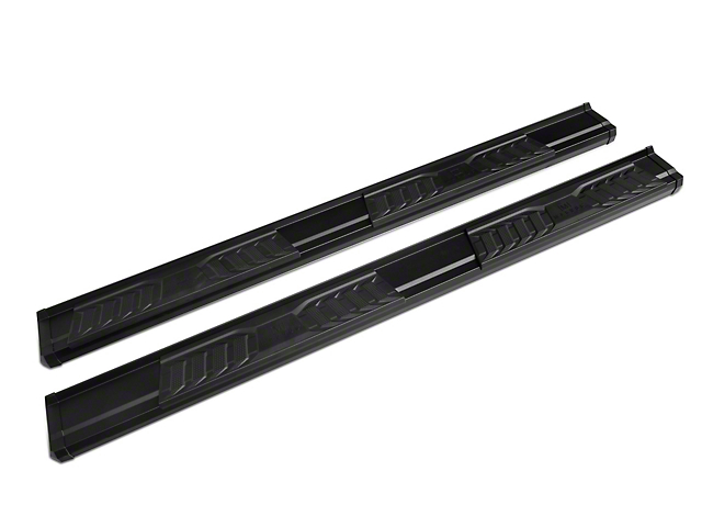 OE Style Running Boards; Black (09-18 RAM 1500 Quad Cab)