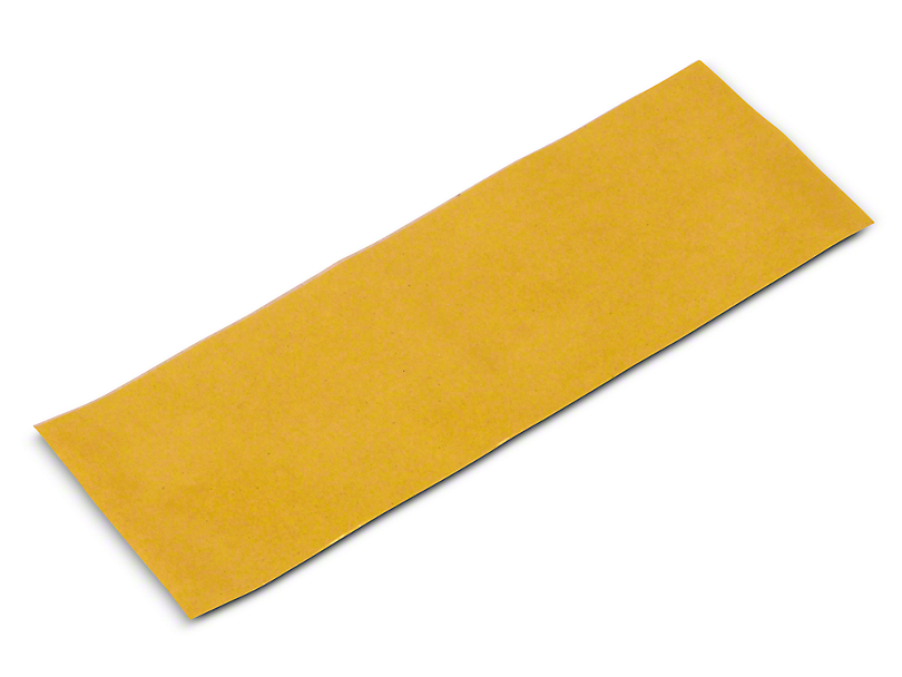 Cut to Size 12 in. LED Light Bar Tint - Yellow