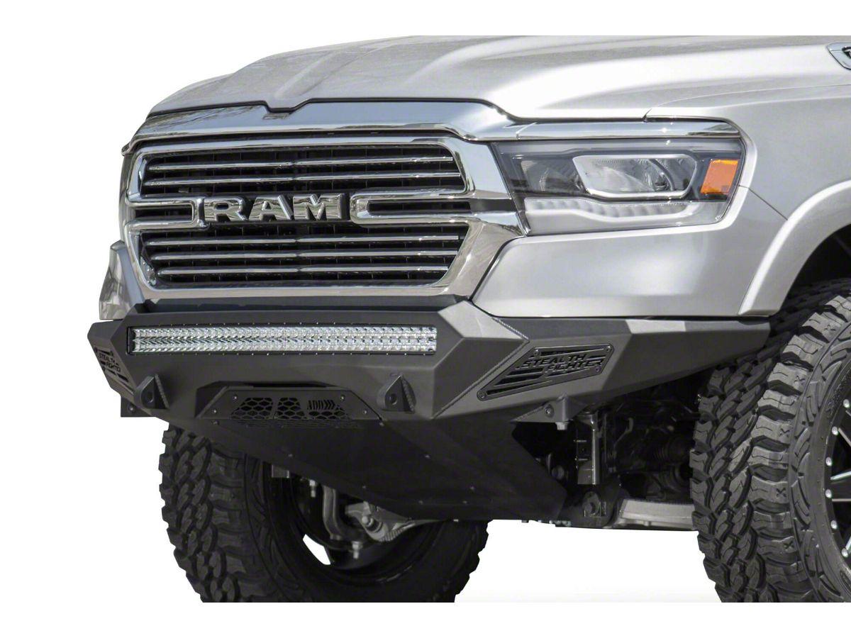 Ram 1500 Bumper >> Addictive Desert Designs Stealth Fighter Front Bumper 19 20 Ram 1500 Excluding Rebel