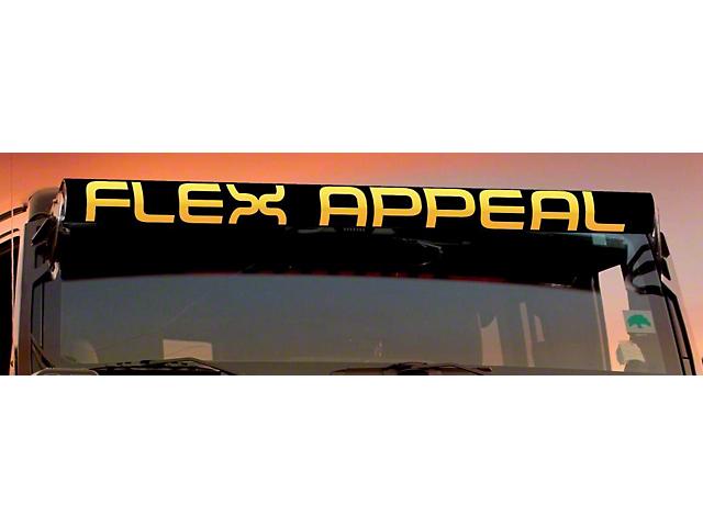 AeroX 52 Inch LED Light Bar Cover Insert; Flex Appeal