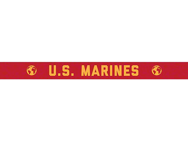 52-Inch LED Light Bar Cover Insert; U.S. Marines