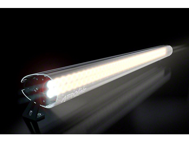 AeroX 52 Inch LED Light Bar Cover Transparent Insert; White