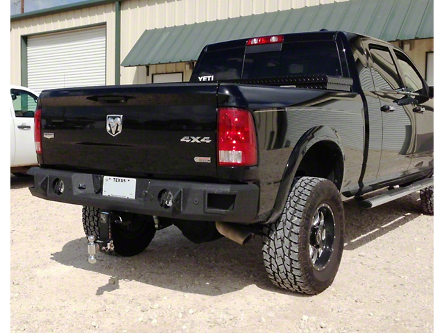 Hammerhead Rear Bumper w/ Round Reverse Light Cutouts (09-18 RAM 1500 w/o Factory Dual Exhaust)