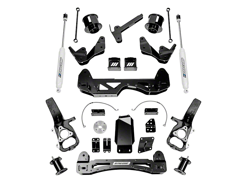 Pro Comp Suspension 6 in. Stage I Suspension Lift Kit w/ ES9000 Shocks (2019 4WD RAM 1500)