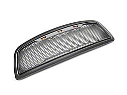 SpeedForm Baja Upper Replacement Grille with LED Lighting; Charcoal (09-12 RAM 1500)