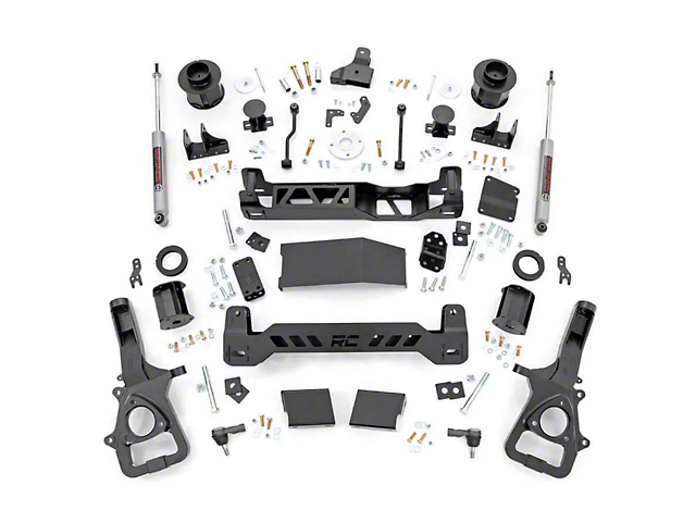 Rough Country 6 Inch Suspension Lift Kit (19-20 4WD RAM 1500 w/o Air Ride, Excluding Rebel)