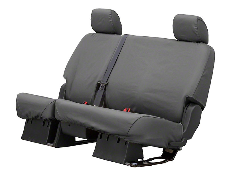 Husky Heavy Duty 2nd Row Seat Cover - Charcoal (11-18 RAM 1500 Quad Cab, Crew Cab)