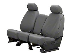 Husky Heavy Duty Front Row Seat Cover - Charcoal (17-18 RAM 1500 w/ Bench Seat)
