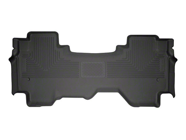 WeatherBeater Second Seat Floor Liner; Black (19-20 RAM 1500 Quad Cab)