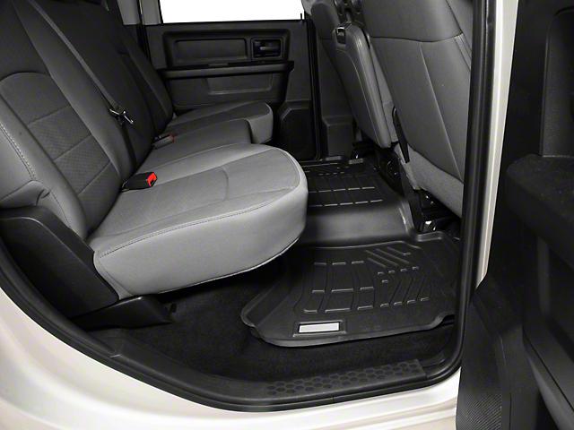 Next Edge Sure-Fit 2nd Row Floor Liner - Black (09-18 RAM 1500 Crew Cab)