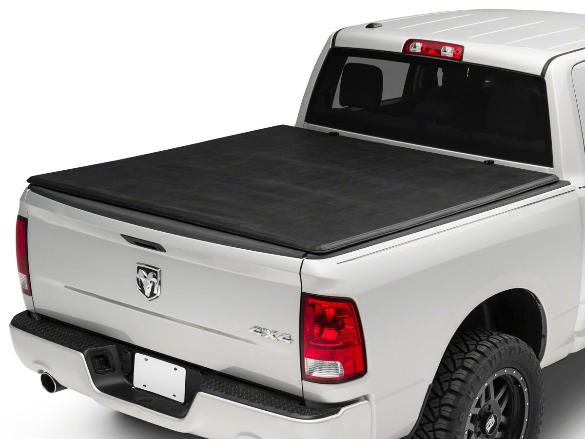 Proven Ground Ram 1500 Soft Tri Fold Tonneau Cover R110093 09 18 Ram 1500 W 5 7 Ft 6 4 Ft Box W O Ram Box