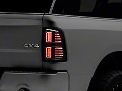 Morimoto XB LED Tail Lights; Black Housing; Smoked Lens (09-18 RAM 1500 w/o Factory LED Tail Lights)