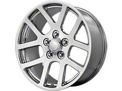 SRT-10 Style Chrome 5-Lug Wheel; 20x9; 25mm Offset (09-18 RAM 1500)