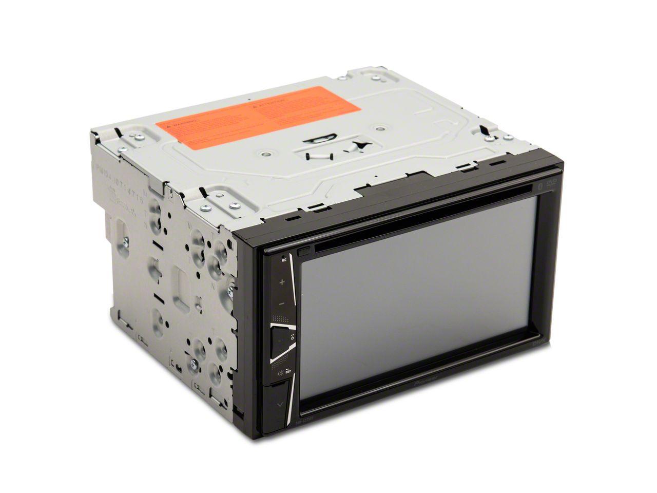 Pioneer Ram Double Din Bluetooth Multimedia Receiver W Integrated Radio Replacement Kit Eu06 09 12 Ram 1500
