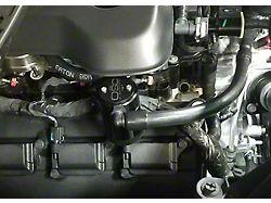JLT 3.0 Black Oil Separator; Passenger Side (19-21 5.7L RAM 1500)
