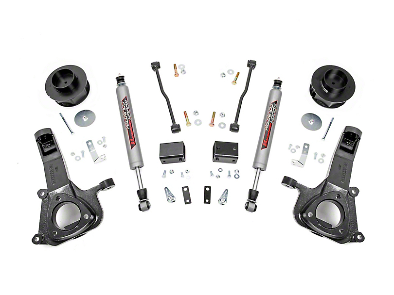 Rough Country 4 Inch Suspension Lift Kit (09-18 2WD RAM 1500)