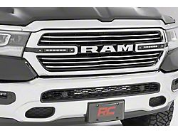 Rough Country Dual 6-Inch Black Series LED Grille Kit (19-21 RAM 1500 Big Horn, Laramie, Tradesman)