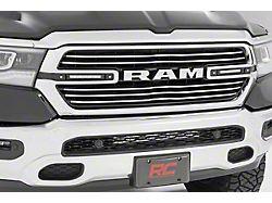 Rough Country Dual 6-Inch Chrome Series LED Grille Kit (19-21 RAM 1500 Big Horn, Laramie, Tradesman)