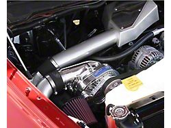 Procharger High Output Intercooled Supercharger Kit with P-1SC-1; Satin Finish (04-08 5.7L RAM 1500)