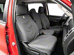 Covercraft Carhartt SeatSaver Front Seat Covers; Gravel (19-20 RAM 1500 w/ Bucket Seats)