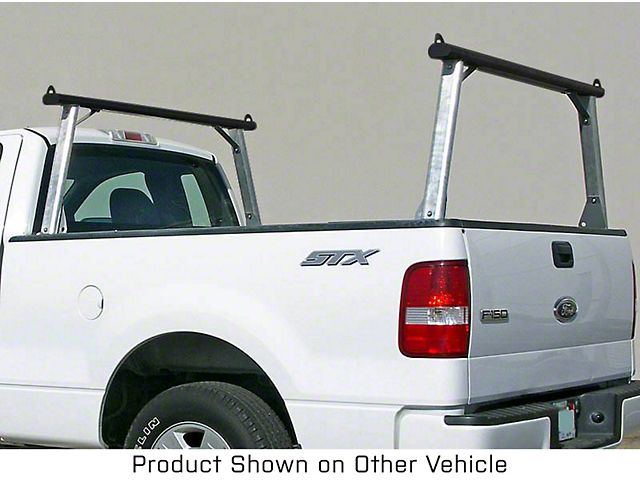 US Rack Clipper Truck Rack; Brushed and Black (07-21 Tundra)