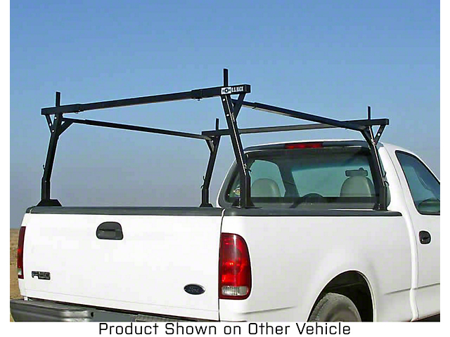 US Rack Stake Pocket Truck Rack; Black (07-21 Tundra)