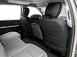 Rough Country Neoprene Front Seat Covers; Black (10-18 RAM 2500 w/ Bucket Seats)