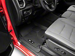 Husky WeatherBeater Front and Second Seat Floor Liners; Black (19-21 RAM 1500 Crew Cab)
