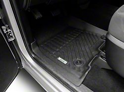 Proven Ground Precision Molded Front and Rear Floor Liners; Black (09-18 RAM 1500 Crew Cab)