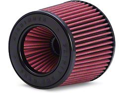 Mishimoto Air Filter; Powerstack; Performance; 3-Inch Inlet; 5-Inch Filter Length; Red (Universal; Some Adaptation May Be Required)