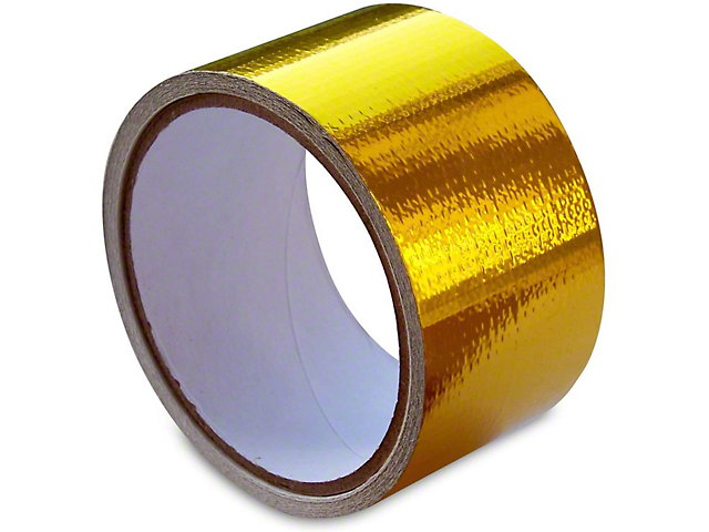 Mishimoto Heat Reflective Tape; Heat Defense Heat Protective Tape; 2 Inch x 15 Foot Roll (Universal Fitment)