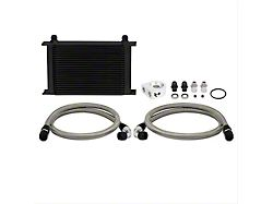 Mishimoto Universal 25-Row Non-Thermostatic Oil Cooler Kit; Black (Universal; Some Adaptation May Be Required)