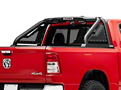Sport Bar 2.0 Roll Bar with Power Actuated Retractable Light Mount; Textured Black (19-21 RAM 1500 w/o RAM Box)