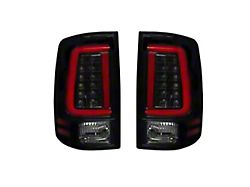 OLED Tail Lights; Black Housing; Smoked Lens (09-18 RAM 1500 w/ Factory Halogen Tail Lights)