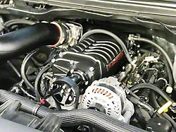Whipple W175AX 2.9L Intercooled Supercharger Kit; Black (19-20 5.7L RAM 1500 w/o E-Torque)